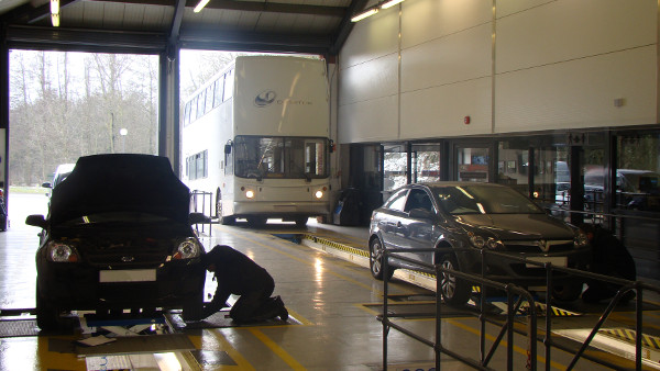 Vehicles tested at Redbourn MOT Centre